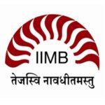IIM Bangalore Jobs 2020
